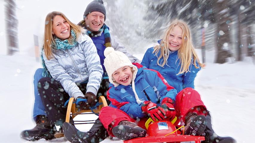 Зимние забавы. Фото с сайта prelest.com