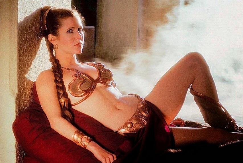Принцесса Лея из «Звездных войн». Фото с сайта peopletalk.ru
