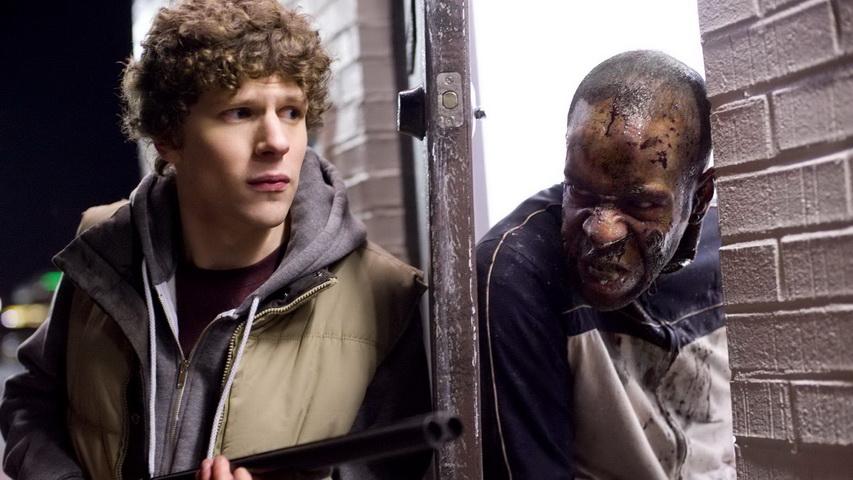Кадр из фильма « Добро пожаловать в Zомбилэнд»