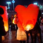 Фонарики в День влюбленных, фото 19