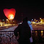 Фонарики в День влюбленных, фото 34