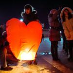 Фонарики в День влюбленных, фото 39