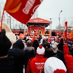 Прибытие Олимпийского огня в Екатеринбург, фото 43