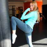 Конкурс «Мисс pogazam.ru 2014»: день спорта, фото 16