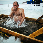Крещенские купания в Екатеринбурге, фото 36