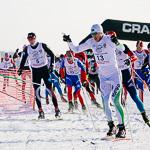 Массовая лыжная гонка «Лыжня России 2015» в Екатеринбурге, фото 12