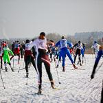 Массовая лыжная гонка «Лыжня России 2015» в Екатеринбурге, фото 35