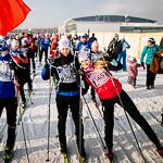 Массовая лыжная гонка «Лыжня России 2015» в Екатеринбурге, фото 52