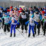 Массовая лыжная гонка «Лыжня России 2015» в Екатеринбурге, фото 56