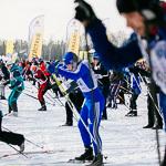 Массовая лыжная гонка «Лыжня России 2015» в Екатеринбурге, фото 57