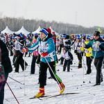Массовая лыжная гонка «Лыжня России 2015» в Екатеринбурге, фото 62