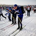 Массовая лыжная гонка «Лыжня России 2015» в Екатеринбурге, фото 71
