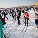 Массовая лыжная гонка «Лыжня России 2015» в Екатеринбурге, фото 73