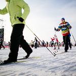 Массовая лыжная гонка «Лыжня России 2015» в Екатеринбурге, фото 77