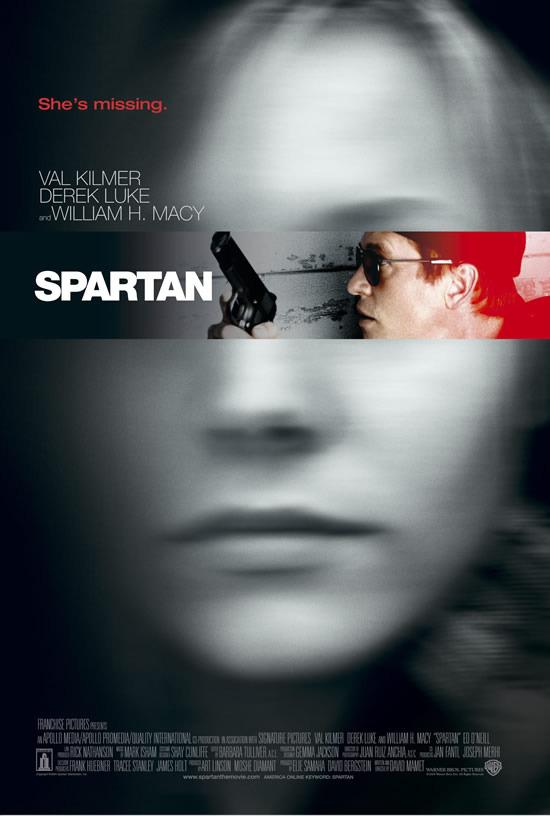 Спартанец. Постер с сайта kinopoisk.ru