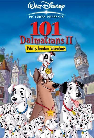 101 далматинец 2: Приключения Патча в Лондоне. Обложка с сайта imagepost.ru