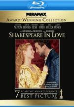 Влюбленный Шекспир. Обложка с сайта amazon.co.uk