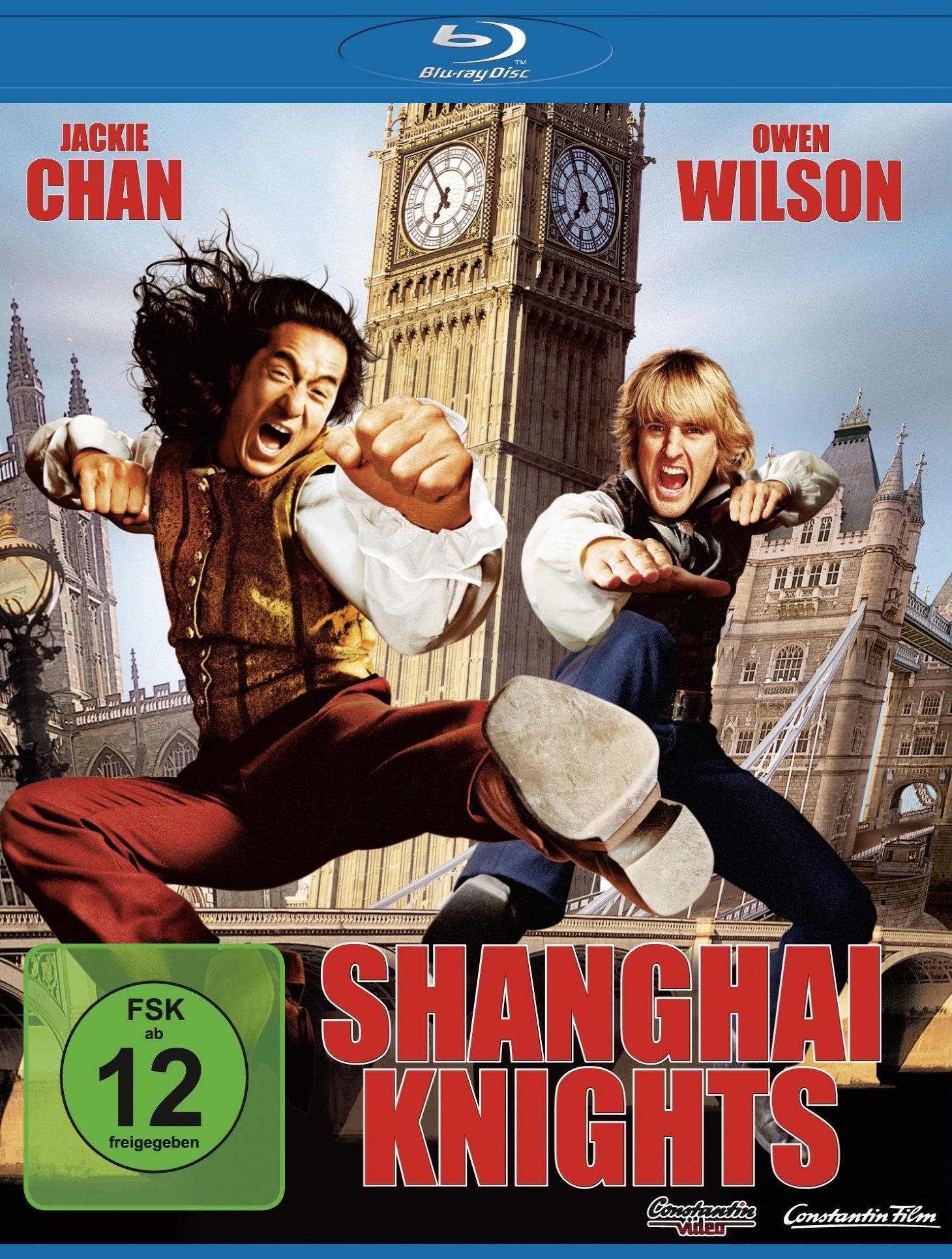 Шанхайские рыцари. Обложка с сайта amazon.co.uk