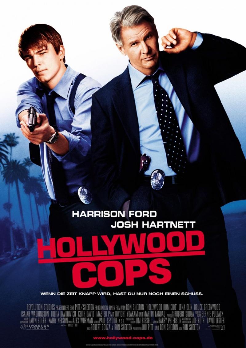 Голливудские копы. Обложка с сайта amazon.co.uk