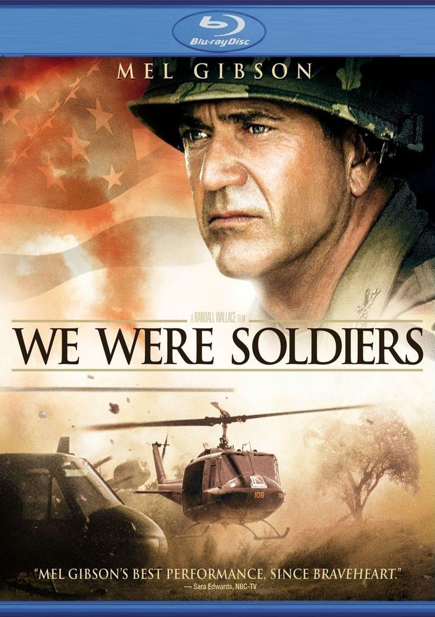 Мы были солдатами. Обложка с сайта blu-ray.com