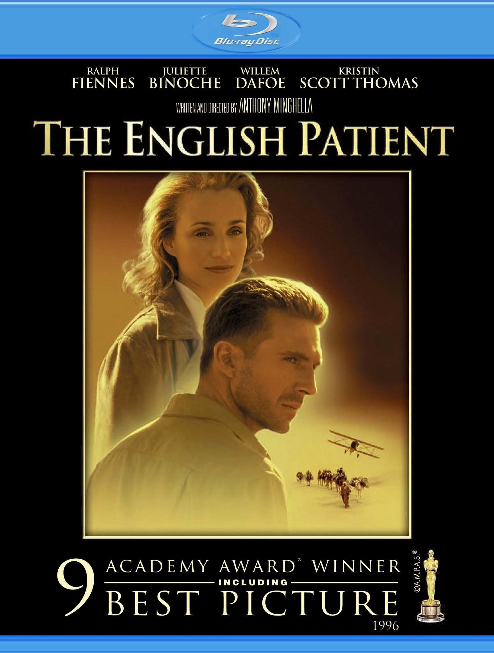 Английский пациент. Обложка с сайта kinopoisk.ru
