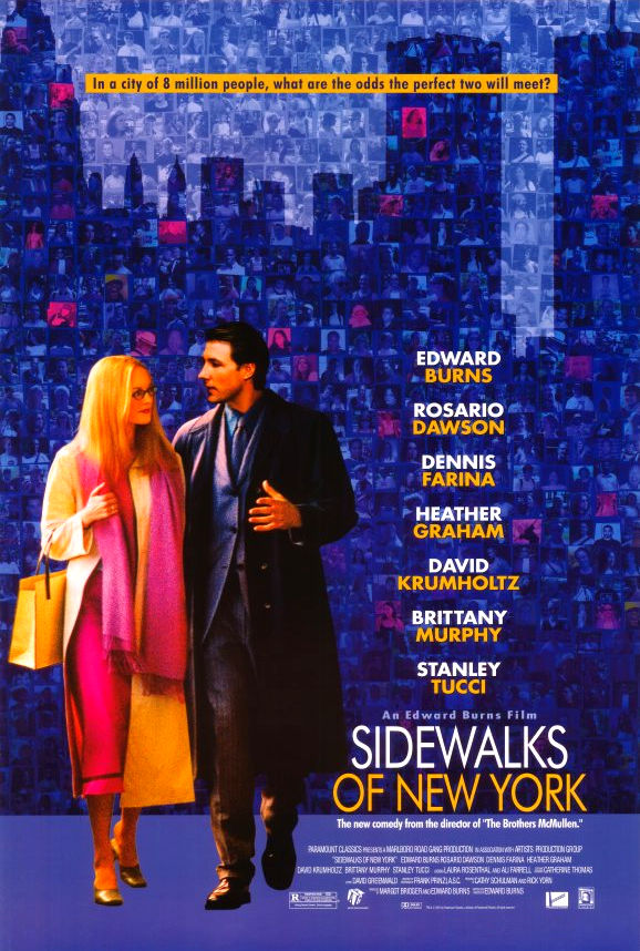 Прогулки по Нью-Йорку. Обложка с сайта kino-govno.com