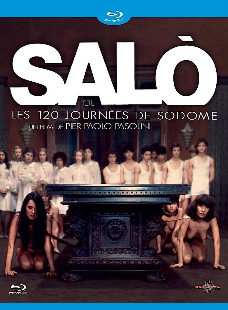 Сало, или 120 дней Содома. Обложка с сайта amazon.de