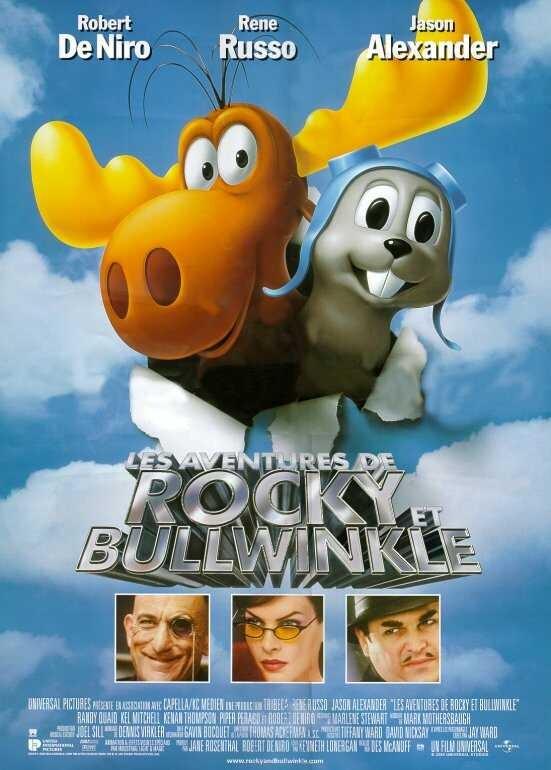 Приключения Рокки и Буллвинкля. Обложка с сайта amazon.com