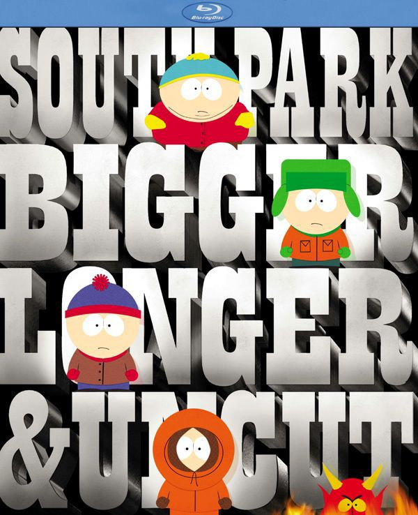Южный Парк: Большой, длинный, необрезанный. Обложка с сайта era-hd.ru
