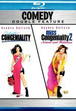Мисс Конгениальность 2: Прекрасна и опасна. Обложка с сайта blu-ray.com
