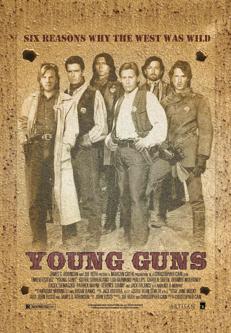 Молодые стрелки. Постер с сайта radikal.ru