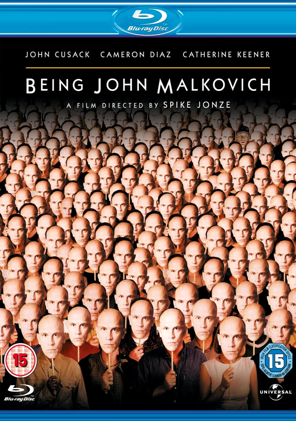 Быть Джоном Малковичем. Обложка с сайта kinopoisk.ru