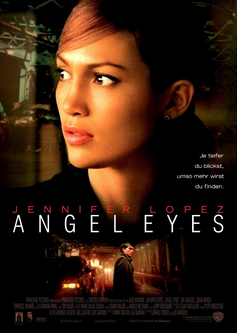 Глаза ангела. Обложка с сайта amazon.de