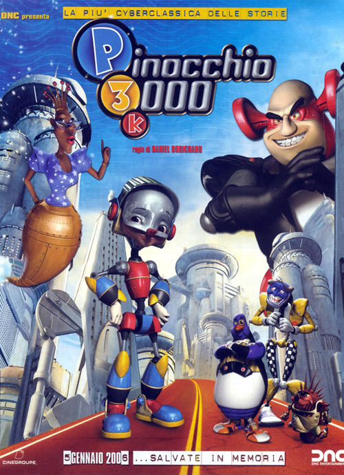 Пиноккио 3000. Постер с сайта keep4u.ru