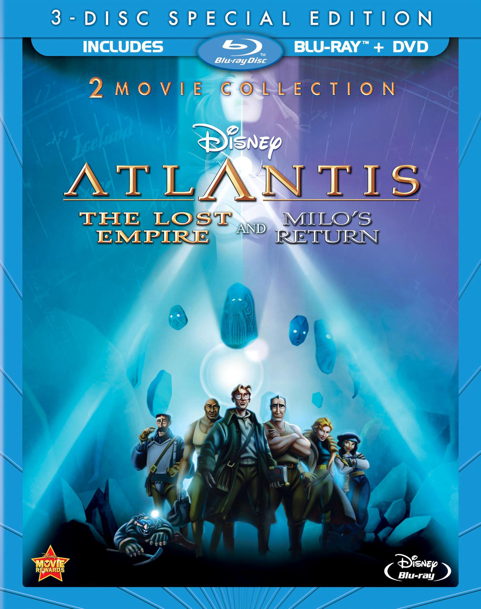 Атлантида 2: Возвращение Майло. Обложка с сайта kinopoisk.ru