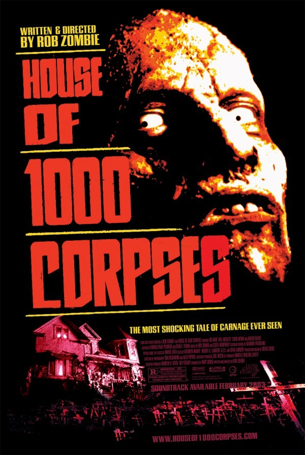 Дом 1000 трупов. Обложка с сайта radikal.ru