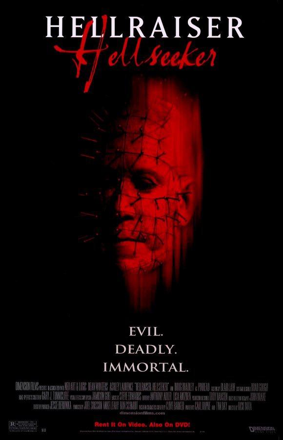 Восставший из ада 6: Поиски ада. Обложка с сайта amazon.com