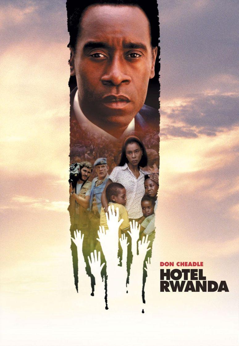 Отель Руанда. Обложка с сайта amazon.com