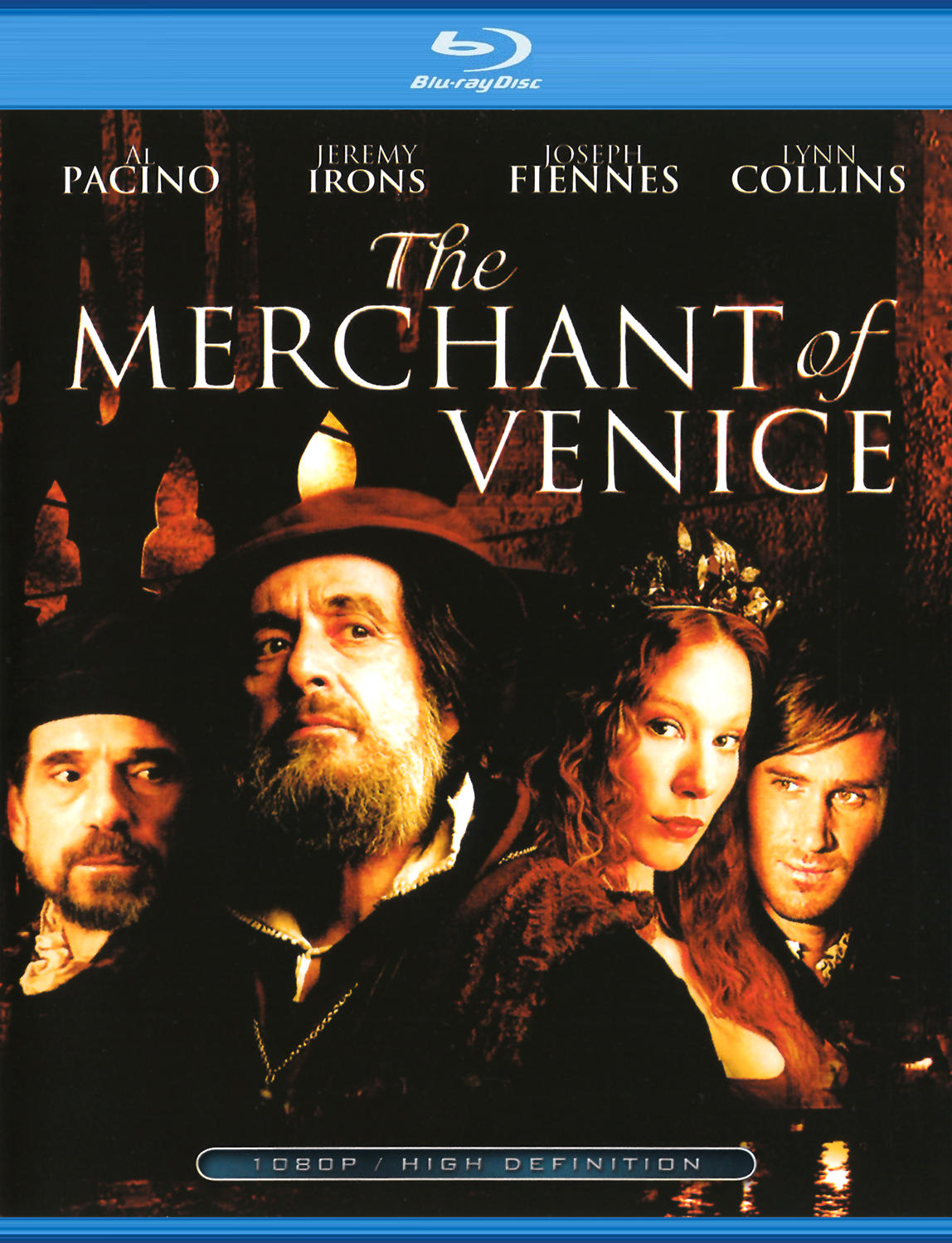 Венецианский купец. Обложка с сайта kinopoisk.ru