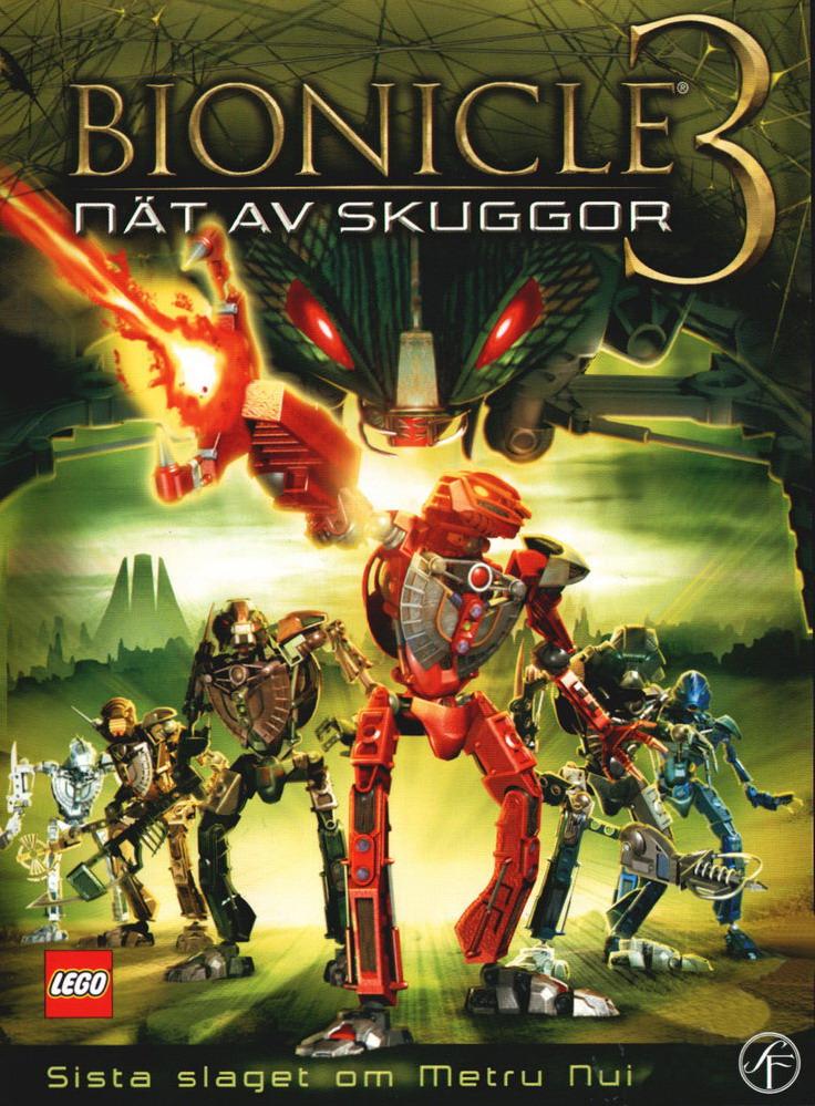 Бионикл 3: В паутине теней. Постер с сайта kinopoisk.ru