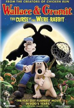 Уоллес и Громит: Проклятие кролика-оборотня. Обложка с сайта amazon.co.uk