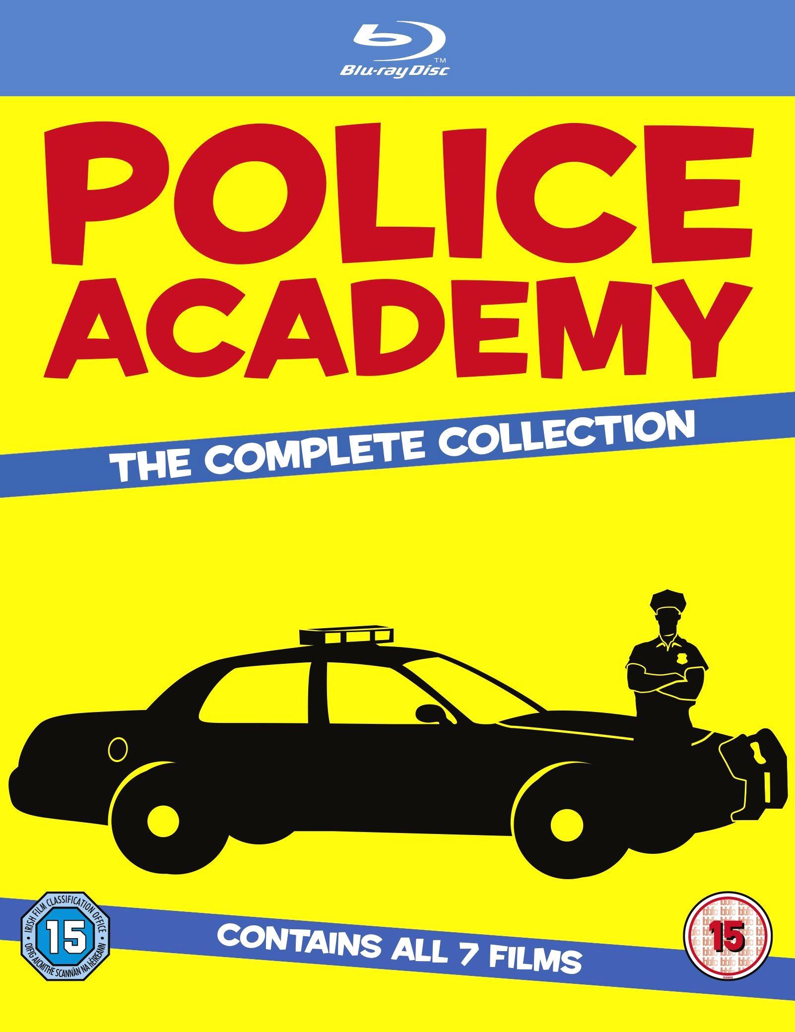 Полицейская академия 6: Город в осаде. Обложка с сайта amazon.co.uk