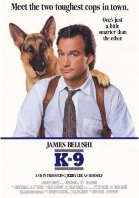 К-9: Собачья работа. Обложка с сайта amazon.co.uk