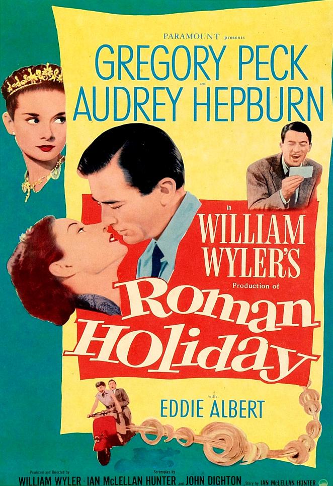 Римские каникулы. Обложка с сайта kino-govno.com