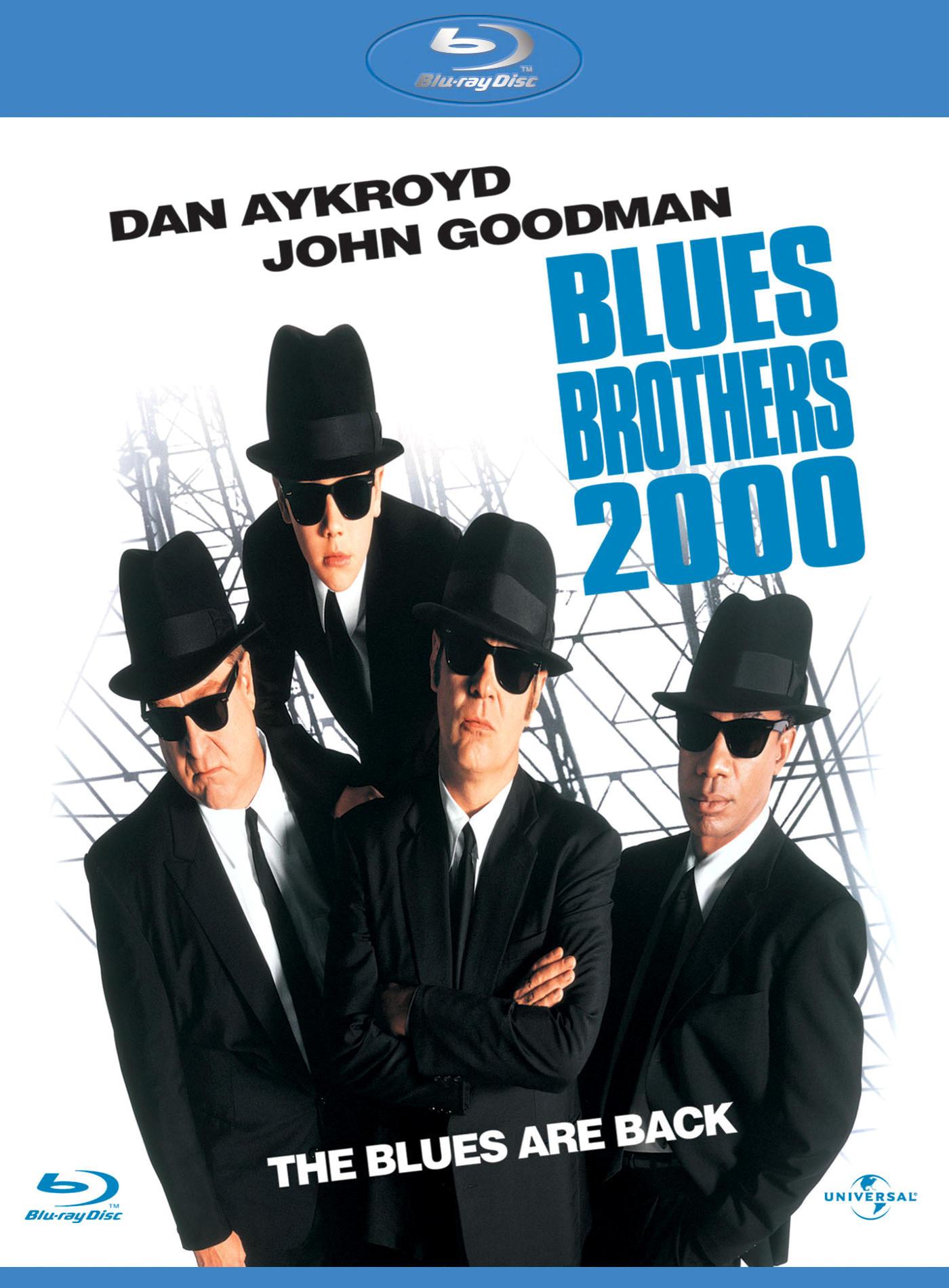 Братья Блюз 2000. Обложка с сайта amazon.co.uk