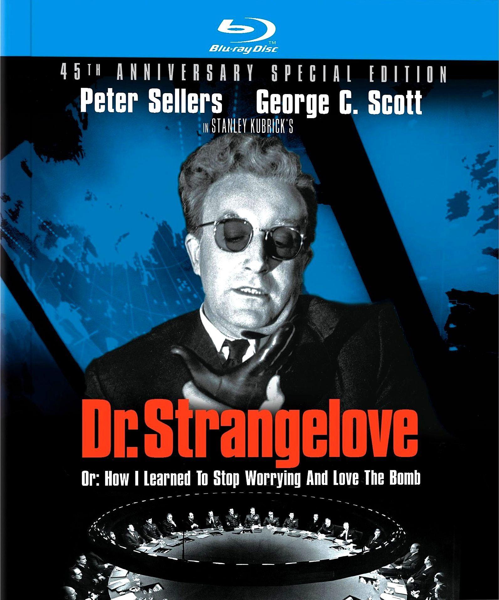 Доктор Стрейнджлав, или Как я научился не волноваться и полюбил атомную бомбу. Обложка с сайта kinopoisk.ru