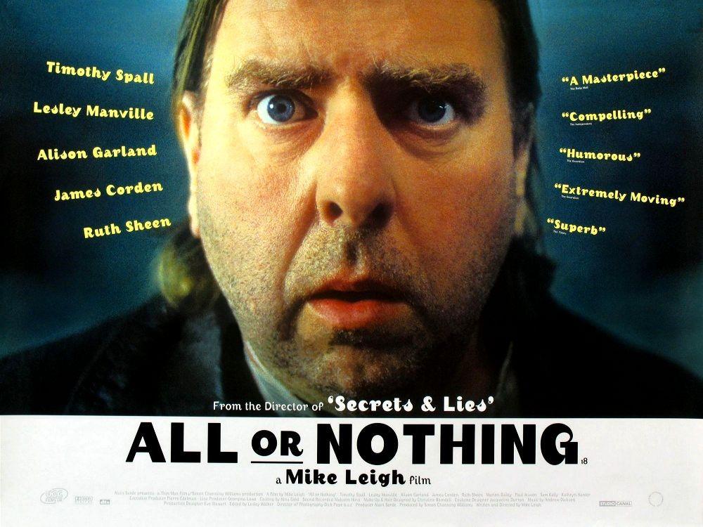 Всё или ничего. Обложка с сайта amazon.co.uk