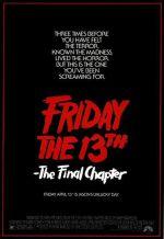 Пятница 13 - Часть 4: Последняя глава. Обложка с сайта amazon.co.uk