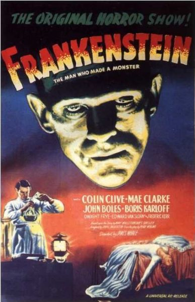 Франкенштейн. Обложка с сайта kino-govno.com