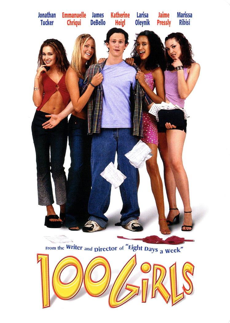 100 девчонок и одна в лифте. Обложка с сайта imagepost.ru
